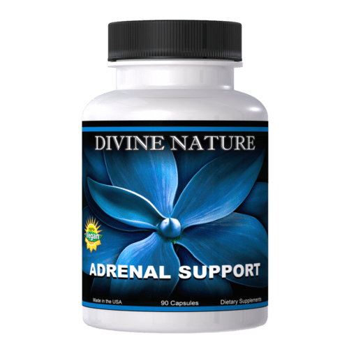 Divine Nature - Adrenal Support 90 Capsules