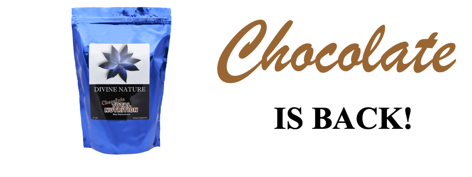 Total Nutrition Chocolate Is Back